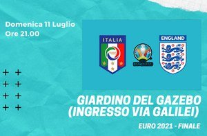 Italia vs. Inghilterra al Giardino del Gazebo