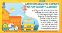 Trasporto scolastico gratuito per gli studenti iscritti al servizio